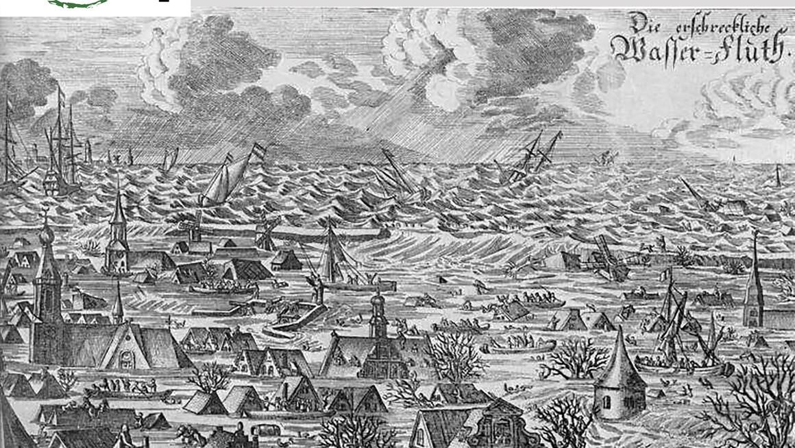 11. Oktober 1634, die Burchardiflut